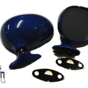 Mazda MX5 MK1 Door Mirrors Manual Mariner Blue DU Pair