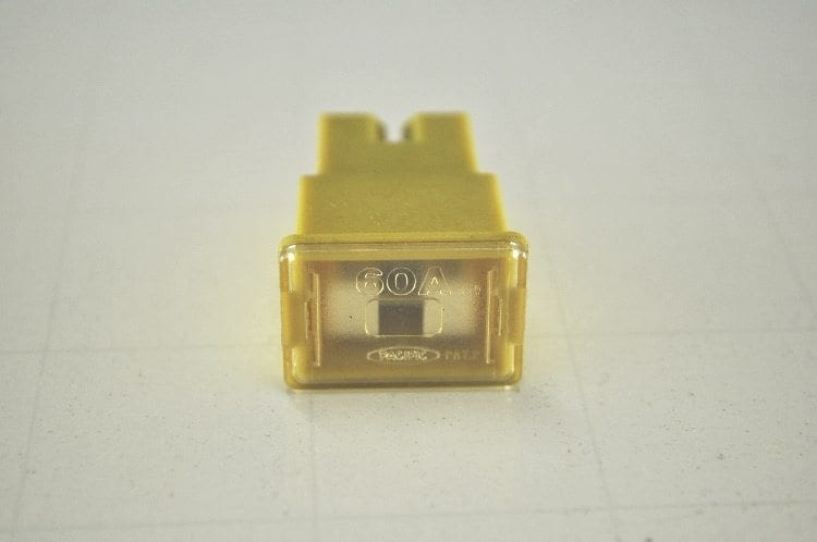 "60 Amp Fuse - Yellow ""Used"""