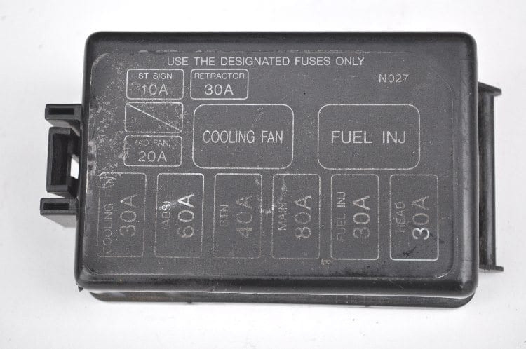 "Fuse Box Cover - N027 ""Used"""