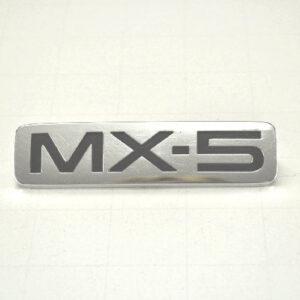 "MX-5 Rear Badge ""Used"""