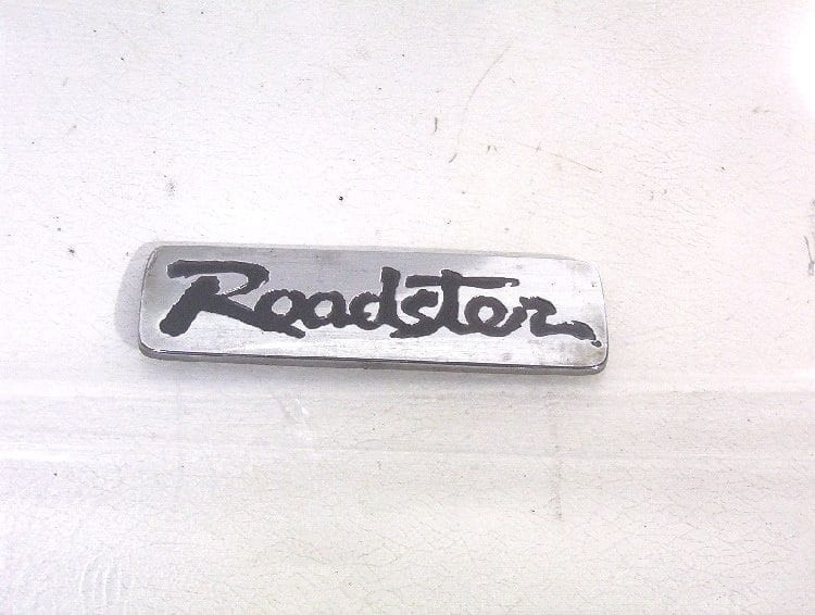 """Roadster Badge """"Used"""""""