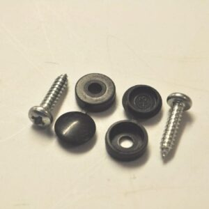 "Number Plate Bolt - Black ""New"""