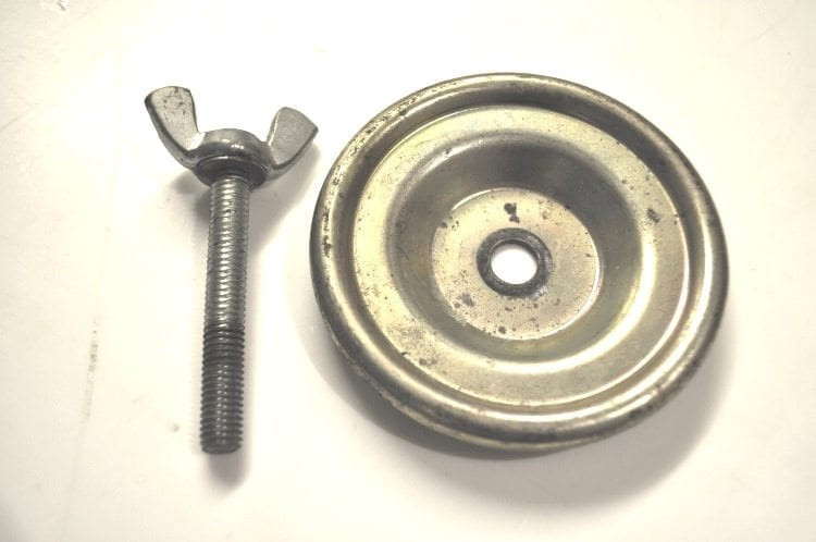 """Spacesaver Wheel Fixing Bolt & Retainer """"Used"""""""