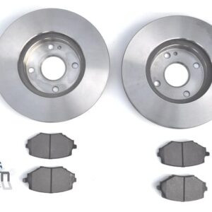 Mazda MX5 MK1 1.8 MK2 255mm Brake Discs Pads Front