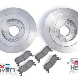 Mazda MX5 MK1 1.8 MK2 251mm Brake Discs Pads Rear