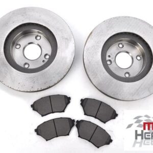 Mazda MX5 MK2 Big Brakes Front Brake Discs Pads 270mm