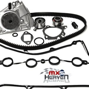 Mazda MX5 MK1 1.6 Timing Belt Kit Water Pump Cam Cover Gasket CAS ORing