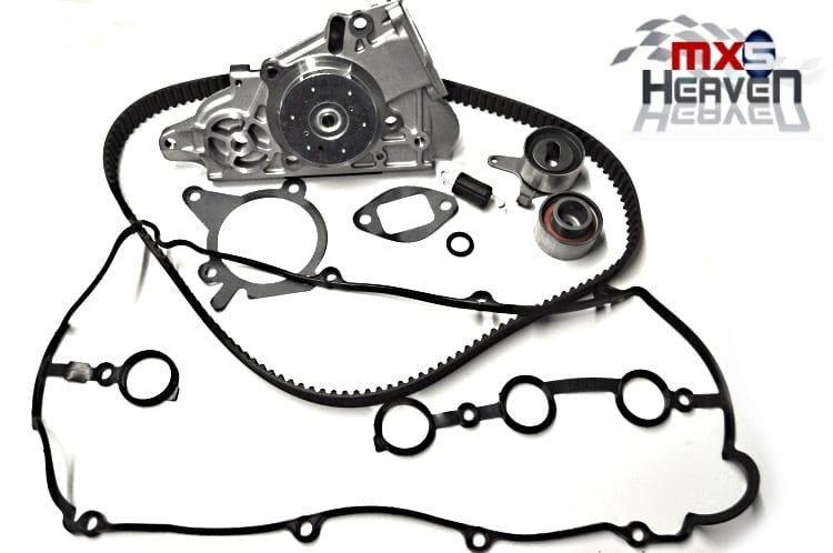 mazda mx5 mk2 1 8 vvt timing belt kit water pump cam cover gasket