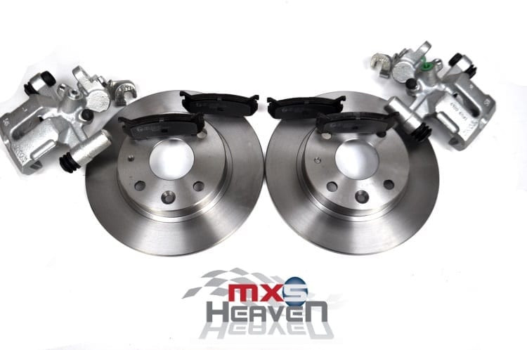 Mazda MX5 MK1 1.6 Rear Brake Discs Pads Caliper