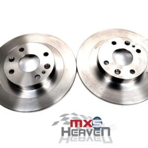 Mazda MX5 MK1 1.8 MK2 Rear Brake Discs Pair Eunos Roadster