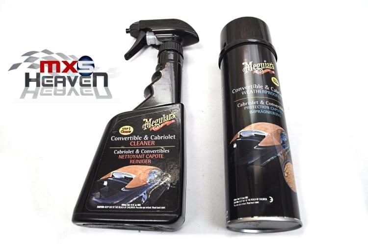 Meguiars Cleaning Kit Cleaner Weatherproofer Mazda MX5