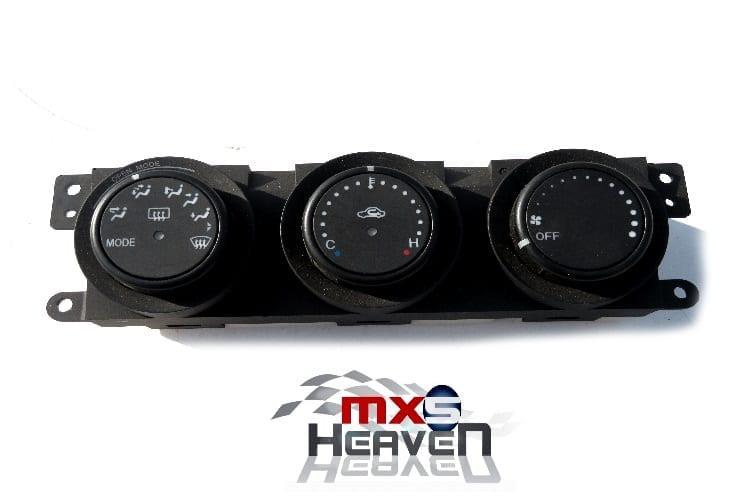 Mazda MX-5 Mk1 Heater Control Panel NO Air Con