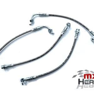 Mazda MX5 MK1 MK2 Stainless Steel Brake Hoses Full Car Set