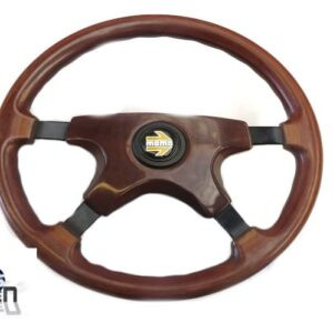 Mazda MX5 MK1 Wooden MOMO Steering Wheel With Boss
